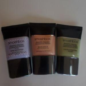 3 smashbox foundation primers